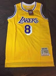 kobe bryant mitchell ness vintage la lakers new swingman jersey