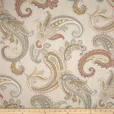 robert allen home global paisley blush discount designer