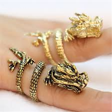 dragon rings gold images Fashion chinese dragon rings gold color dragon rings for women jpg