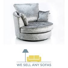 Cheap Swivel Armchairs Uk We Sell Any Sofas Crushed Velvet Leather Fabric U0026 Corner