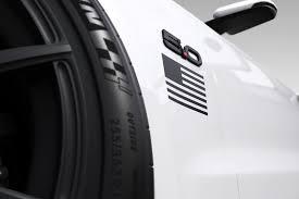 Satin Black Mustang 1964 2018 Mustang Mini Flag Graphics Satin Black Lamustang Com