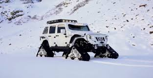 stormtrooper jeep wrangler stormtrooper jk jeep with tracks is called arctic frog