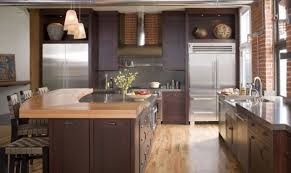 Design A Kitchen Kitchen Kitchen Remodel Tile Backsplash With Exposed Brick Wall