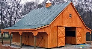 Loft Barn Plans Prefab Horse Barns Barn Decorations