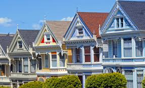 painted ladies houses 1 san francisco photo by john ecker