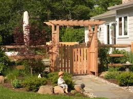 stylish design gate arbor cute monterey gate by trellis structures