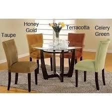 empire microfiber parson chairs set of 2 free shipping today