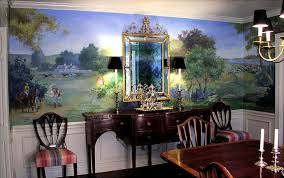 Clare Hirn Studio  R Dining Room - Dining room mural