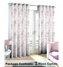 Grey Beige Curtains Yellow Floral Curtains Clame Co