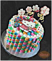 hello kitty cake buttercream www onesweettreat com one sweet