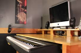 Recording Studio Desk Design by Music Workstation Desk Plans Best Home Furniture Decoration