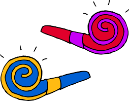 new years party blowers decoration clipart party blower pencil and in color decoration
