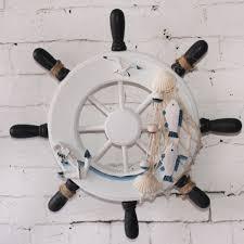 aliexpress com buy beach style wood wall decor nautical steering
