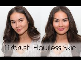 makeup that looks airbrushed airbrush makeup tutorial flawless skin how to