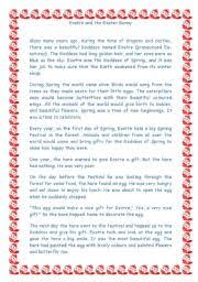 the story of the easter bunny worksheets easter worksheets page 43