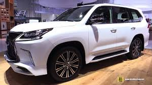 lexus lx interior 2018 lexus lx 570 exterior and interior walkaround 2017