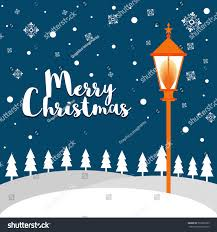 merry christmas background xmax trees snow stock vector 530303785