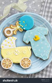 baby shower cookies stock photo 119516494 shutterstock