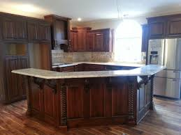kitchen islands with bar beautiful new kitchen using osborne modified bar corbels osborne