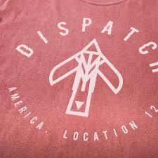 Radio Dispatch Logos Bird U0027 Logo T Shirt Brick Dispatch