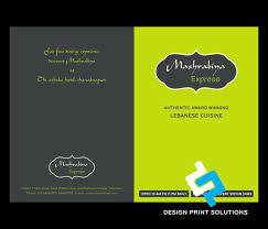restaurant menu designing and printing services company in delhi