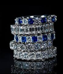 half eternity ring meaning eternity rings lovetoknow