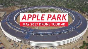 New Apple Headquarters Apple Park May 2017 Drone Tour 4k Youtube