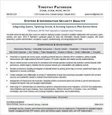 Security Resume Examples by Download Information Security Resume Haadyaooverbayresort Com