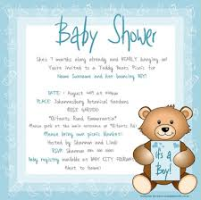 teddy bear baby shower invitations email baby shower invitations marialonghi com