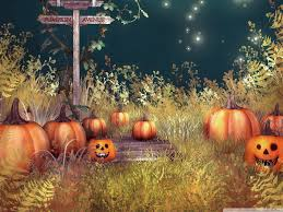 free pumpkin desktop wallpaper vintage halloween wallpapers group 54