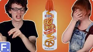 irish people taste test savoury american foods with loop control