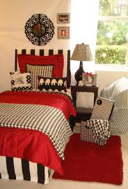 bedding university of alabama custom crimson and hounds tooth