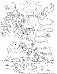 25 spring coloring pages ideas number