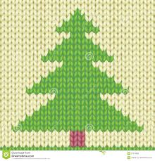 knitted christmas tree royalty free stock image image 27416656