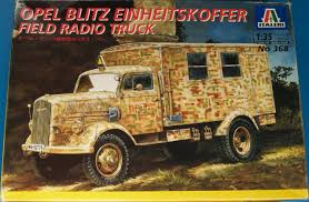 german opel blitz truck opel blitz field radio truck scale modelling
