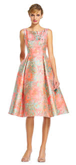 fit and flare dress printed jacquard fit and flare dress papell