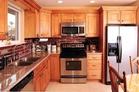 maple cabinets with granite countertops maple kitchen cabinets with granite countertops photo of interior