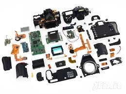 surprisingly high tech what a dslr looks like on the inside