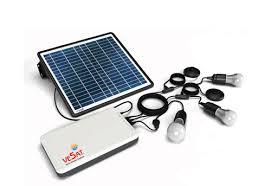 solar dc lighting system solar home light system in coimbatore vesat solar products
