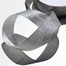 silver gift ribbon silver metallic ribbon metallic ribbon