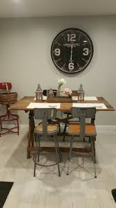 Hobby Lobby Drafting Table Big Clock From Hobby Lobby Vintage 1920 S Drafting Table With