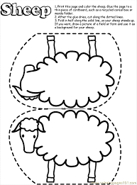 parable lost sheep coloring az coloring pages