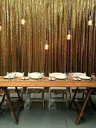 wedding backdrop size 20ftx10ft gold sequin photo backdrop select your