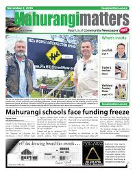 mahurangi matters 2 nov 2016 by localmatters issuu