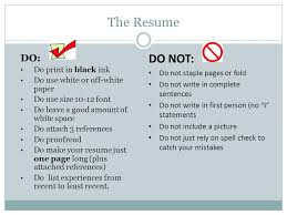 Resume First Person Resumes Ppt Video Online Download