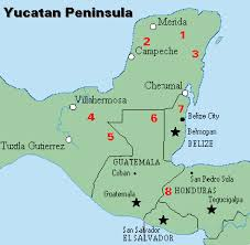 map of guatemala cities from the jungle to the sea expedition belize map