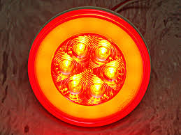 4 inch round led tail lights glolight led tail light 4 inch round