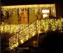 store decoration warm white led twinkle icicle lights buy