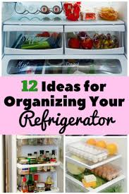 12 ideas for organizing your refrigerator the budget diet