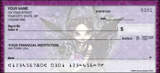 gothlings checks personal checks collector s edition checks